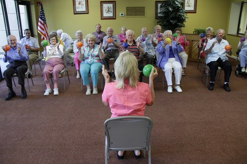 Morristown Seniors Find Creative Ways to Stay Fit