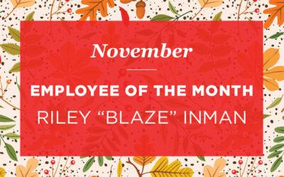 """Riley """"Blaze"""" Inman"""